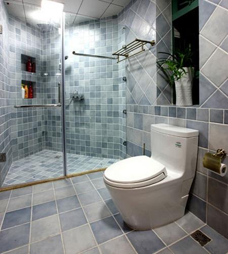 洗澡也要美美哒!6款地中海卫生间设计