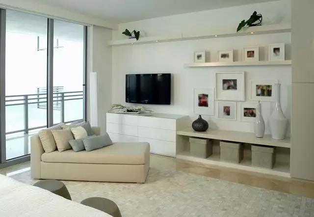 让电视背景墙成为家中靓丽的风景线美呆了