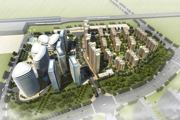 华融现代城效果图